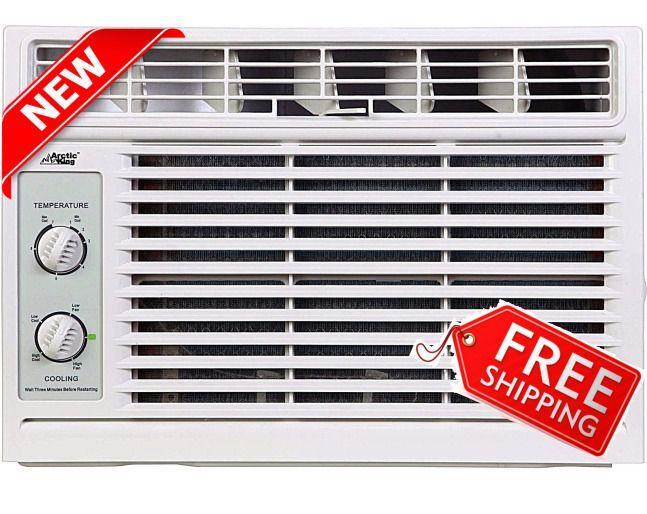 Window Air Conditioner 5000 BTU Mechanical Cooler Arctic King AC Unit 2Fan Speed #ArcticKing