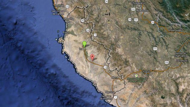 Fuerte sismo de 5.6 grados remeció Ica y se sintió también en Lima