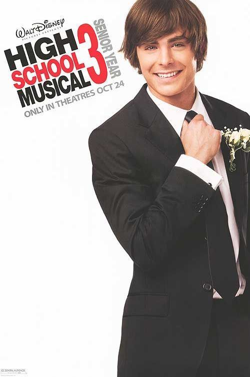 High School Musical 3: Senior Year  is it terrible that Samantha and I still watch these movies sometimes?? hahah!
