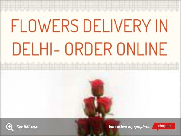 Infographic: Flowers Delivery in Delhi- Order Online -