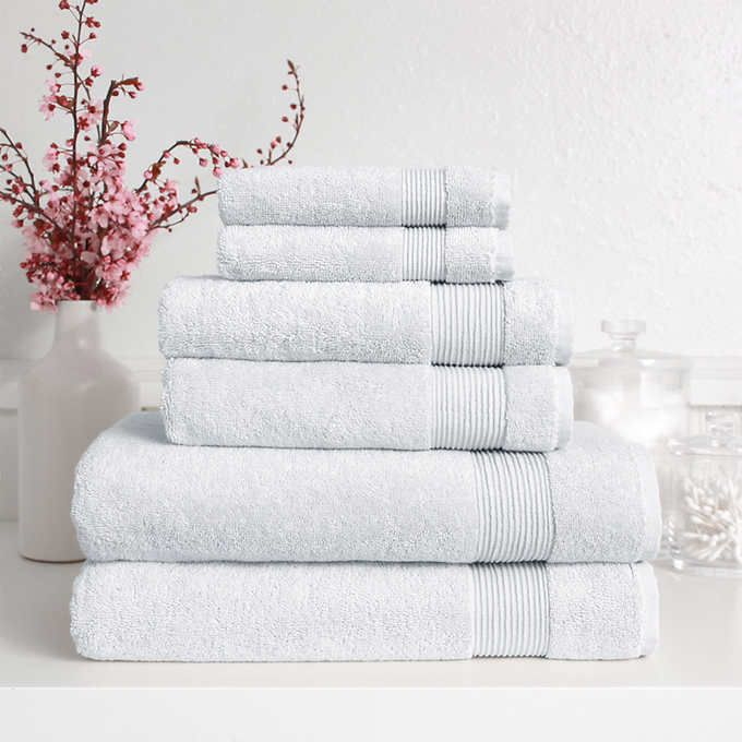 Signature Collection 6 Piece Bath Towel Set With Images Towel