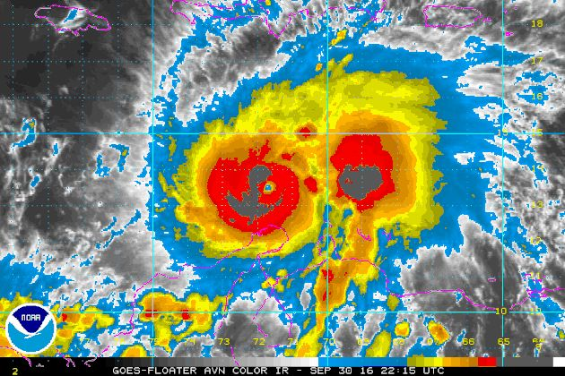 Powerful Category 5 Hurricane Matthew Heads For Jamaica And Cuba   Huffington Post 10/16