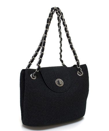 Another great find on #zulily! Black Fold-Over Shoulder Bag http://www.zulily.com/?SSAID=930758&tid=acceleration_930758 #zulilyfinds