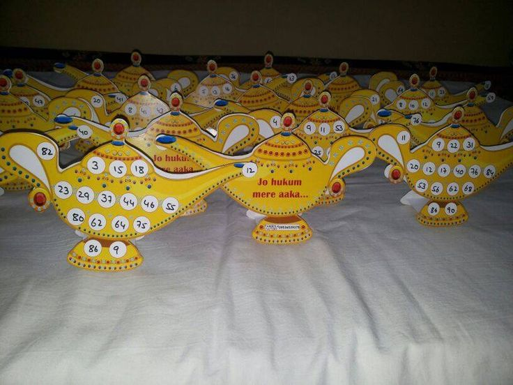 Jo hukum mere aaka tambola tickets are must for Arabian night theme kitty party.Rub this lamp and make a wish...and turn your party into magical place.Arabian night theme party is quite popular these days....... For any details .... Contact us or whatsapp us on 09536539375