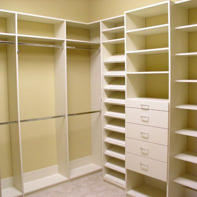 A practical bedroom closet... it's not overly fancy, but exactly what I want.
