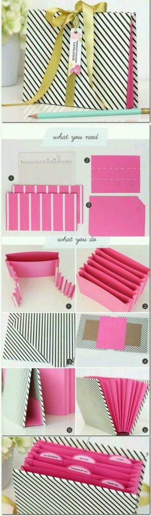 DIY crafts stationery organizer
