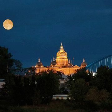 Iowa's capital city, Des Moines, has emerged as one of the region's most energetic midsize cities.