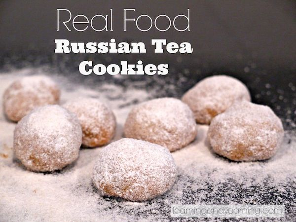 Healthy cookies usually taste, well, healthy. Not these!!!! Make with REAL ingredients, these Russian Tea Cookies are THE BEST!