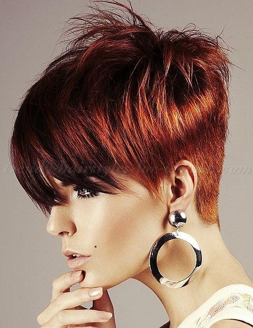 Short Hairstyles Long Bangs Hair Fringe