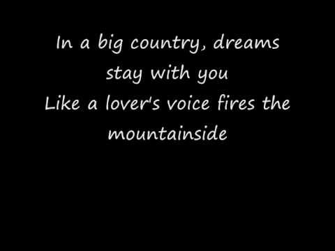 Big Country - In A Big Country.  Could easily listen to this for hours on end.  My favorite song of all time.
