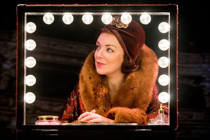 Sheridan Smith as Fanny Brice in Funny Girl. Menier Chocolate Factory now, heading to the West End in April 2016.