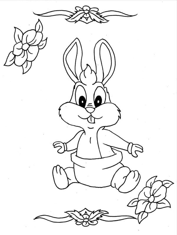 looney tune christmas coloring pages - photo#14