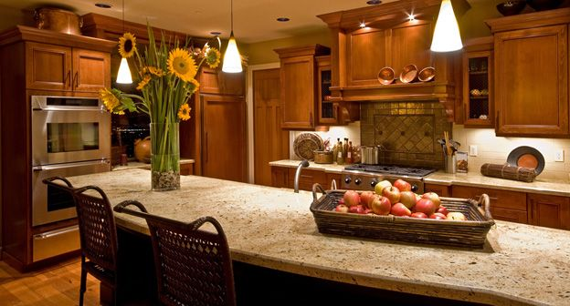 Earth tones in the kitchen interiors that work for Earth tone kitchen designs