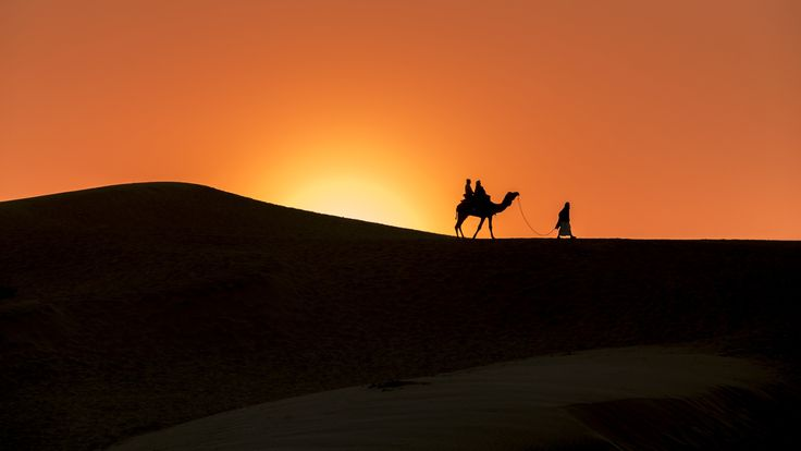 Thar Silhouette by Ritesh Niranjan on 500px