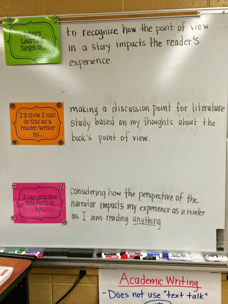 Middle School Teacher to Literacy Coach: Learning Targets, Minilessons, I Can Statements, Etc.