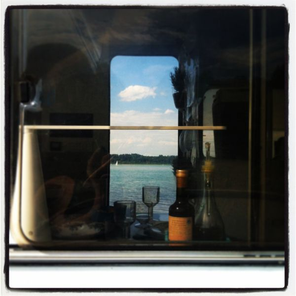 Somewhere in Germany | Traveling across Europe on board of Hometta | www.designonboard.it