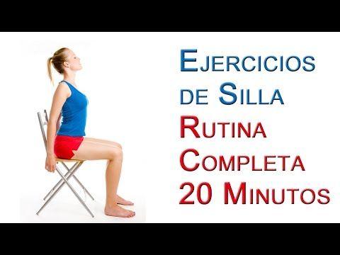Increíble rutina de ejercicios solo con una sillaFem.Media