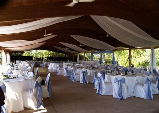 Outdoor Reception At Grand Geneva
