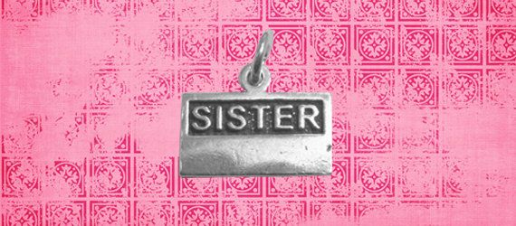 LDS Elder or Sister Missionary Name Tag Charm in Sterling Silver. $34.95, via Etsy.