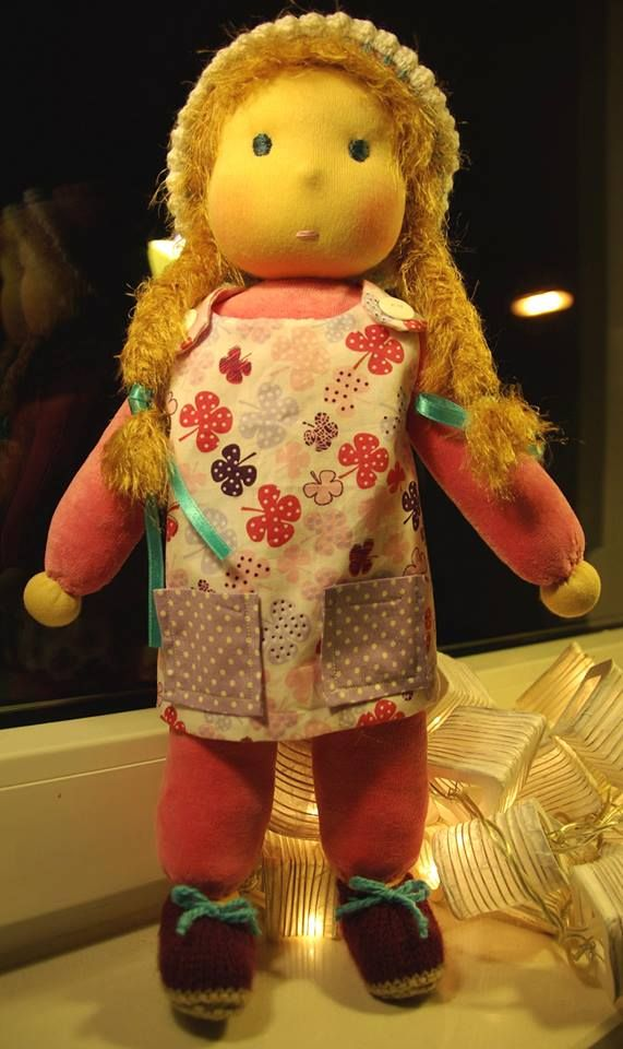 Waldorf doll - handmade by Katerina Maletzidou