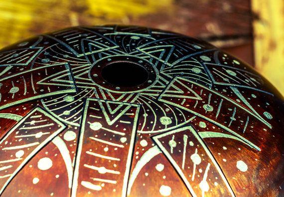 KosmoSky tank drum/ Steel Handpan/ Hank /Tone Tongue от KosmoSky