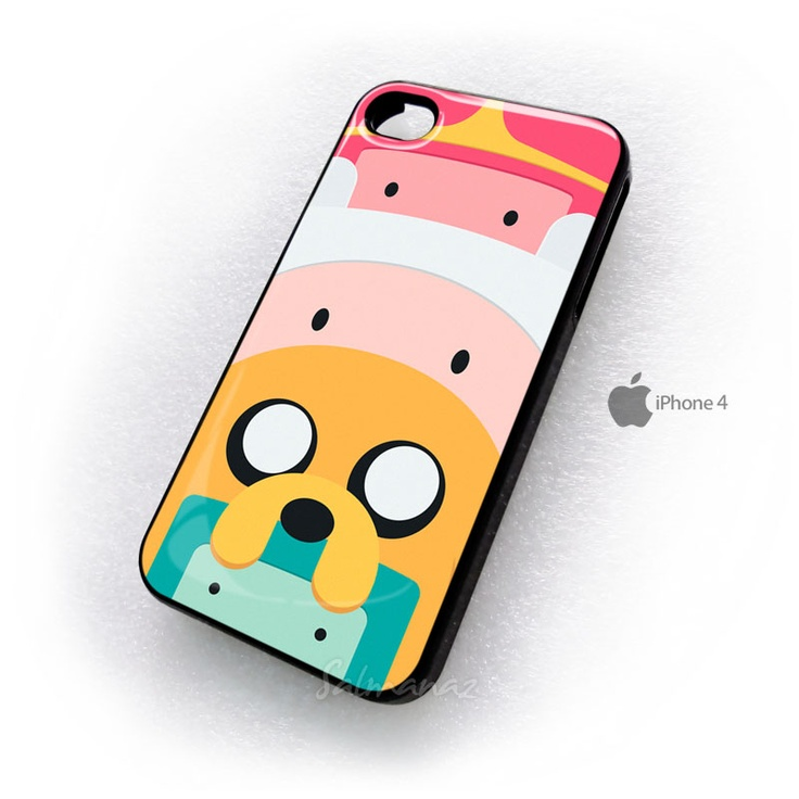 Adventure Time Totem Finn and Jake iphone 4 case. Sooooo cute