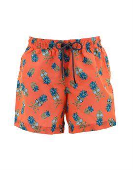 SUNUVA Orange Pineapple Print UPF50+ Swim Shorts. Shop online: http://www.tilltwelve.com/en/eur/product/1088861/SUNUVA-Orange-Pineapple-Print-UPF50-Swim-Shorts/