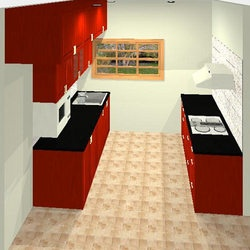 small parallel kitchen designs google search