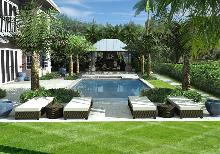 11 best images about south florida pool patios on pinterest for Hess landscape architects
