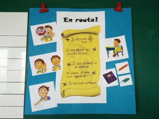 En route! Thème des pirates, images tirées de www.lespictogrammes.com