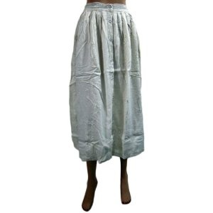 """Summer Long Skirt White Embroidered Gypsy Cotton Skirts India Clothing 31""""l (Apparel)  http://www.amazon.com/dp/B007O6D3ZM/?tag=http://howtogetfaster.co.uk/jenks.php?p=B007O6D3ZM  B007O6D3ZM"""