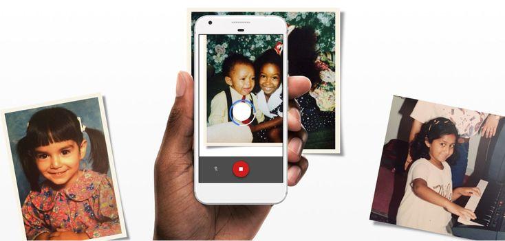 L'application Google PhotoScan permet de numériser ses vieilles photos