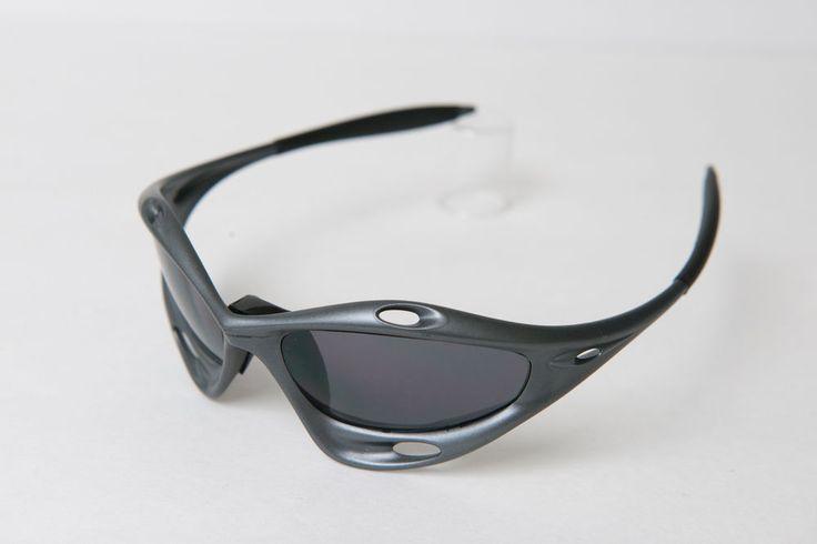 ORIGINAL Oakley Racing Jacket Gunmetal Gray/Black Iridium Sunglasses 1st Gen. | Clothing, Shoes & Accessories, Men's Accessories, Sunglasses & Fashion Eyewear | eBay!
