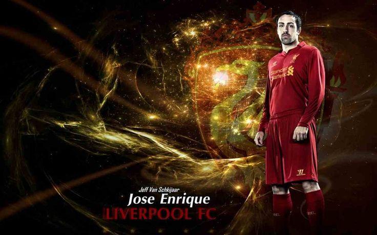 Jose Enrique Liverpool 2012-2013 Wallpapers HD