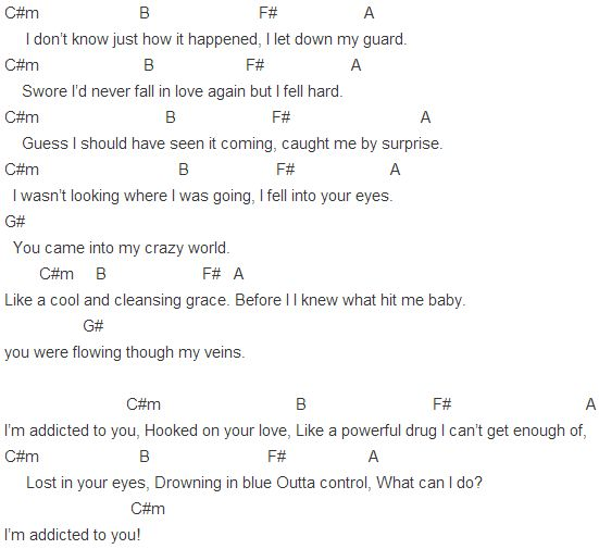 Addicted To You Chords | Avicii | Pinterest | Avicii and ...