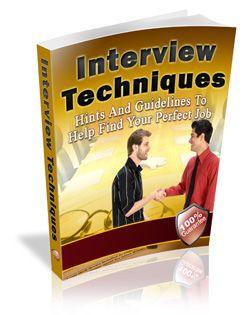 Interview Technique Book