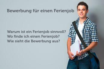 Bewerbung Ferienjob: So klappt es – Johanne Finsterbusch