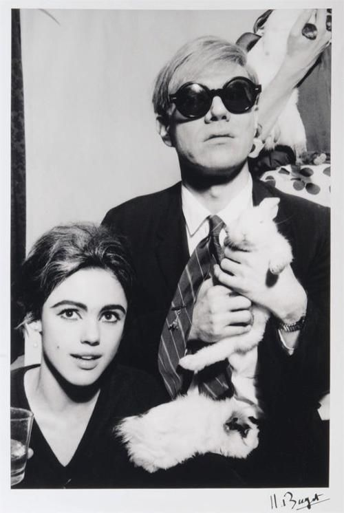 Our Pittsburgh muse, Andy Warhol with his muse, Edie Sedgwick.