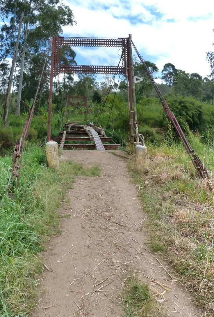 Ukarumpa bridge, PNG