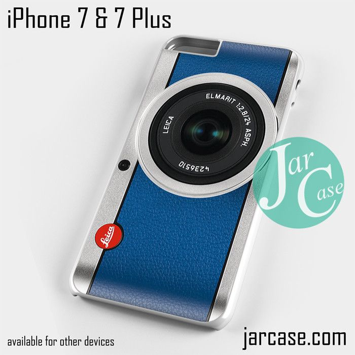 capri blue leica camera Phone case for iPhone 7 and 7 Plus