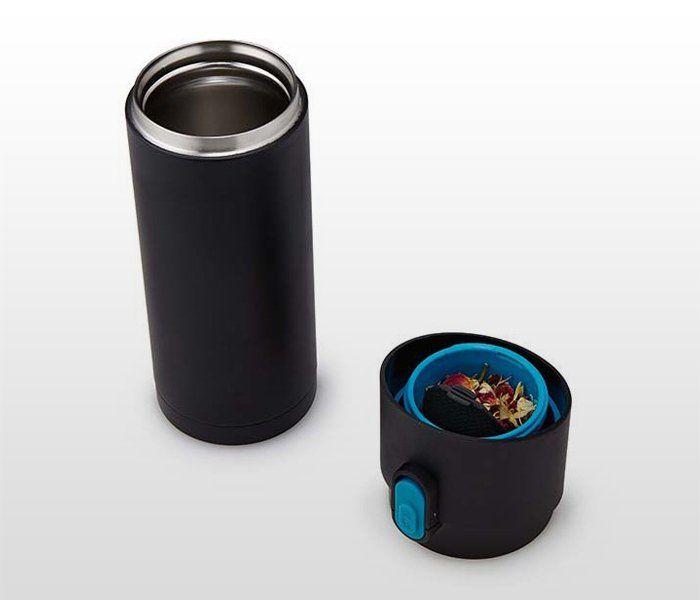 Kubek termiczny z zaparzaczem do herbaty 350 ml