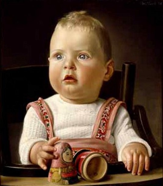 Baby Portrait: Albert Carel Willink