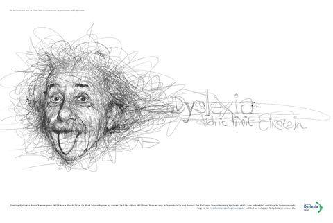 Dyslexie: Einstein