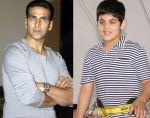 Akshay Kumar with son Aarav