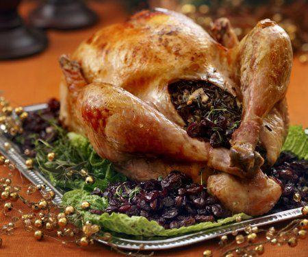 Rezept: Gefüllter Truthahn zu Weihnachten