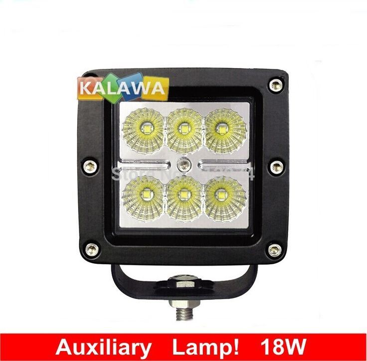 Superb One piece Auxiliary lamp W Spotlight for UV Bus Car Truck Vehicle Carlm External light