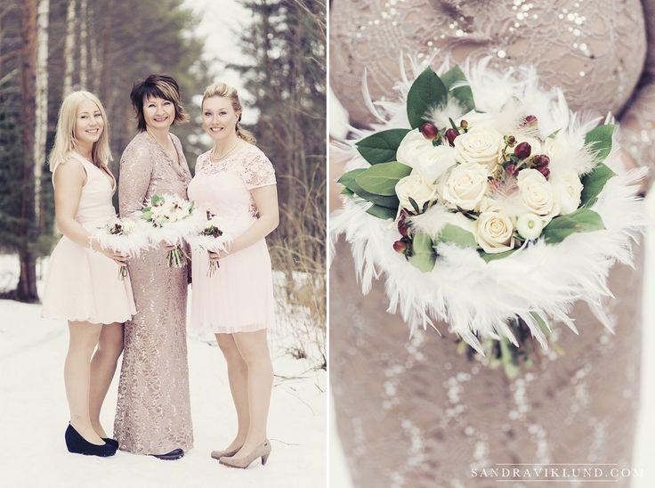 Winter wedding in Sweden