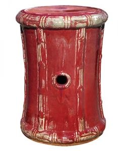 Bamboo Garden Stool / Red  sc 1 st  Pinterest & 521 best ARCHITECTURE: GARDEN STOOLS images on Pinterest | Ceramic ... islam-shia.org