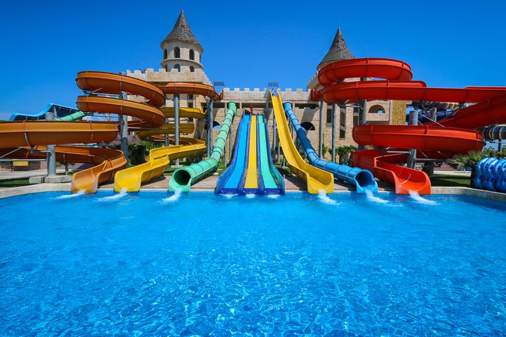 Sunny Beach, Bulgaria has plenty of waterparks. Here's the low down on two of them - Action vs Paradise. Family Travel.