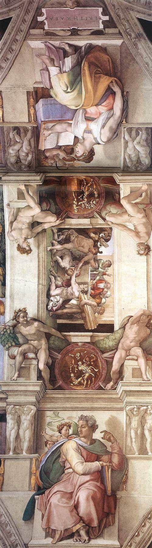 ❤ - MICHELANGELO BUONARROTI - (1475 - 1564) - Sistine Chapel - Ceiling.